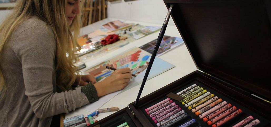 clases de pintura para jóvenes en Bilbao