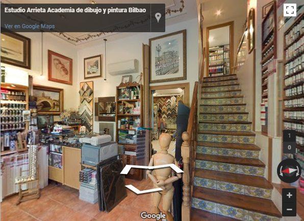 Esudio Arrieta Academia de dibujo y pintura en Bilbao
